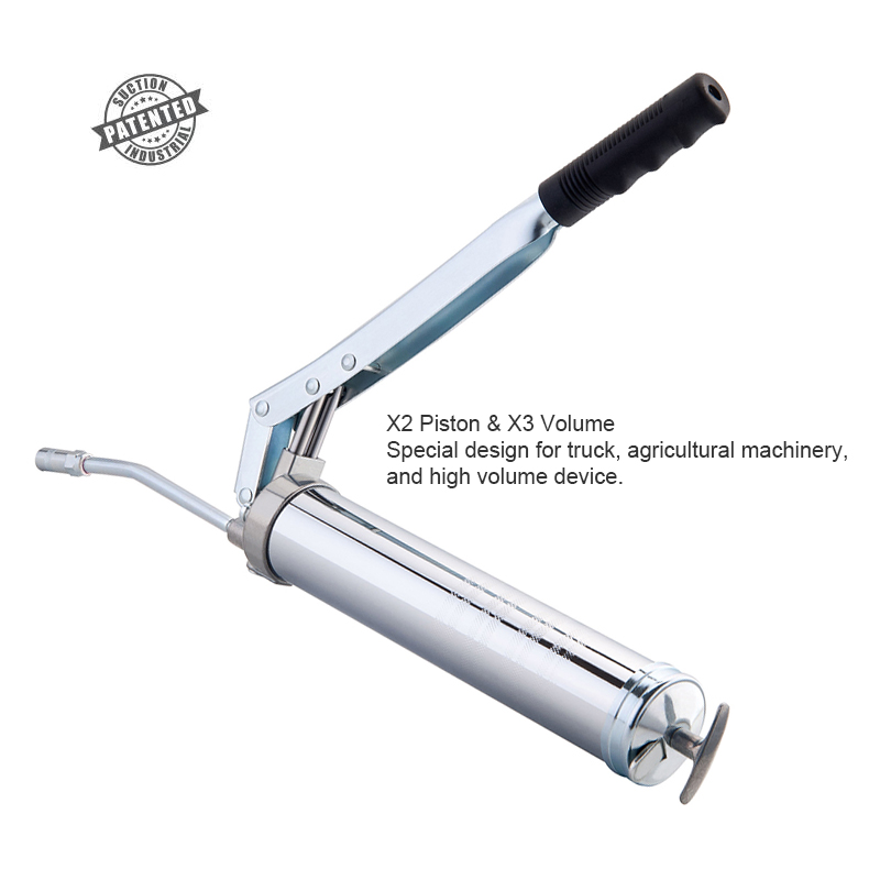 Two-Piston Grease Gun