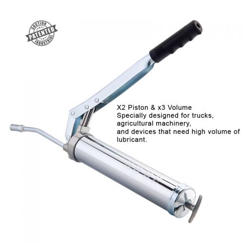 Two-Piston Lever Grease Gun